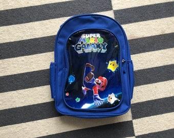 Super Mario galaxi kids backpack shoulder bag Fanny 90s vintage Shoulder bag