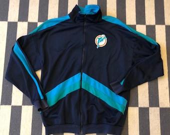 Miami Dolphins Vintage jacket 90s 80s - women size M - Men S