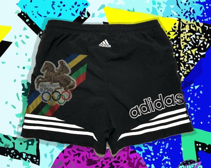 Featured listing image: 90s Adidas 1956 Olympics Vintage shorts  - Men Size SMALL