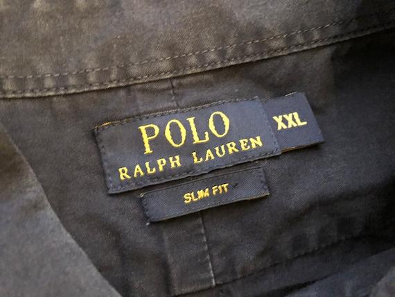 Authentique Polo Ralph Lauren Casual bouton chemise Vintage - homme homme -  manches longues taille XL ... 8df6bfb458e