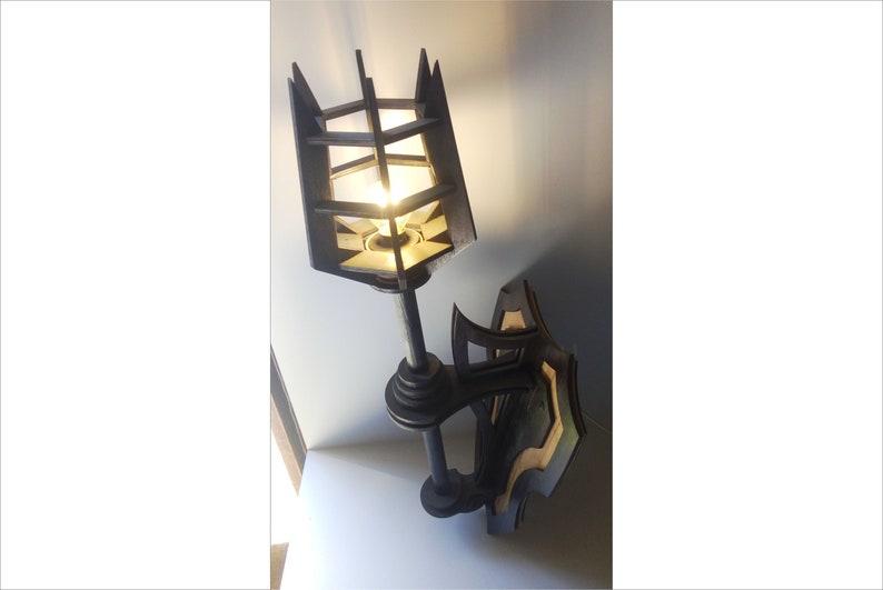 Lanterna viking medievale lanterna lanterna torcia viking etsy