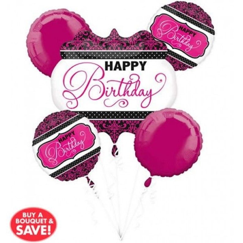 Happy Birthday Balloon Bouquet Happy Birthday Balloons Happy