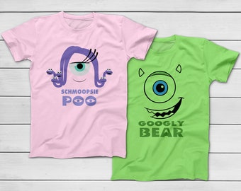 0e051c0f6 Schmoopsie Poo - Celia / Googly Bear - Mike Monsters University - Halloween  Group Costume T-Shirts - Disney Trip 2019 - Sully Mike Boo Celia