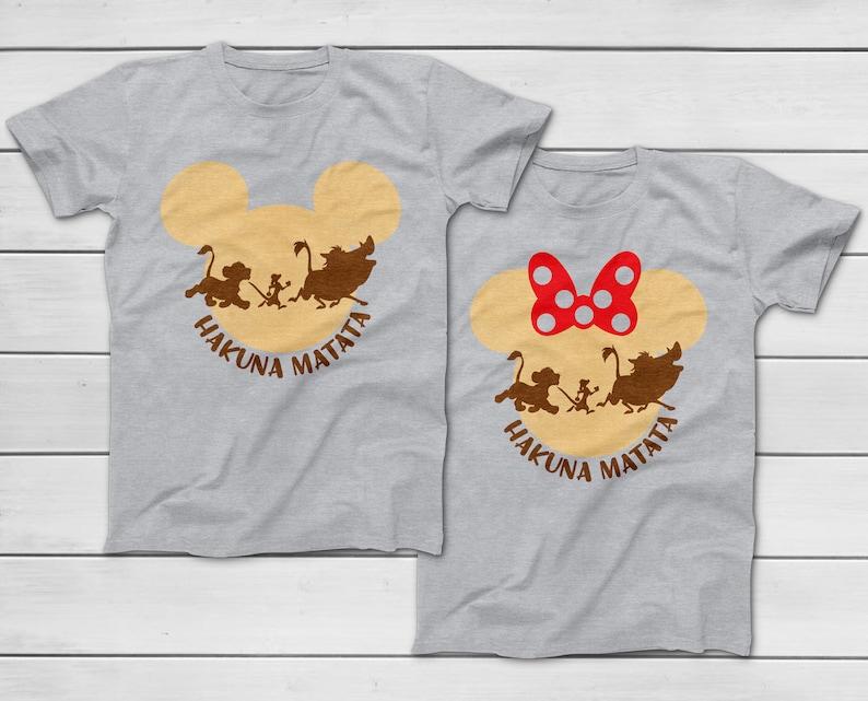 d483fd27 Disney Hakuna Matata T-Shirt 2019 Disney Animal Kingdom   Etsy