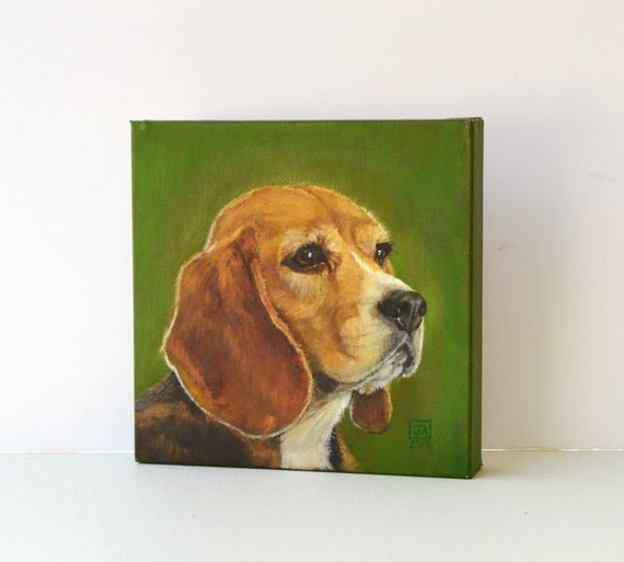 BEAGLE CANVAS PRINT PICTURE WALL ART VARIETY OF SIZES FREE FAST DELIVERY