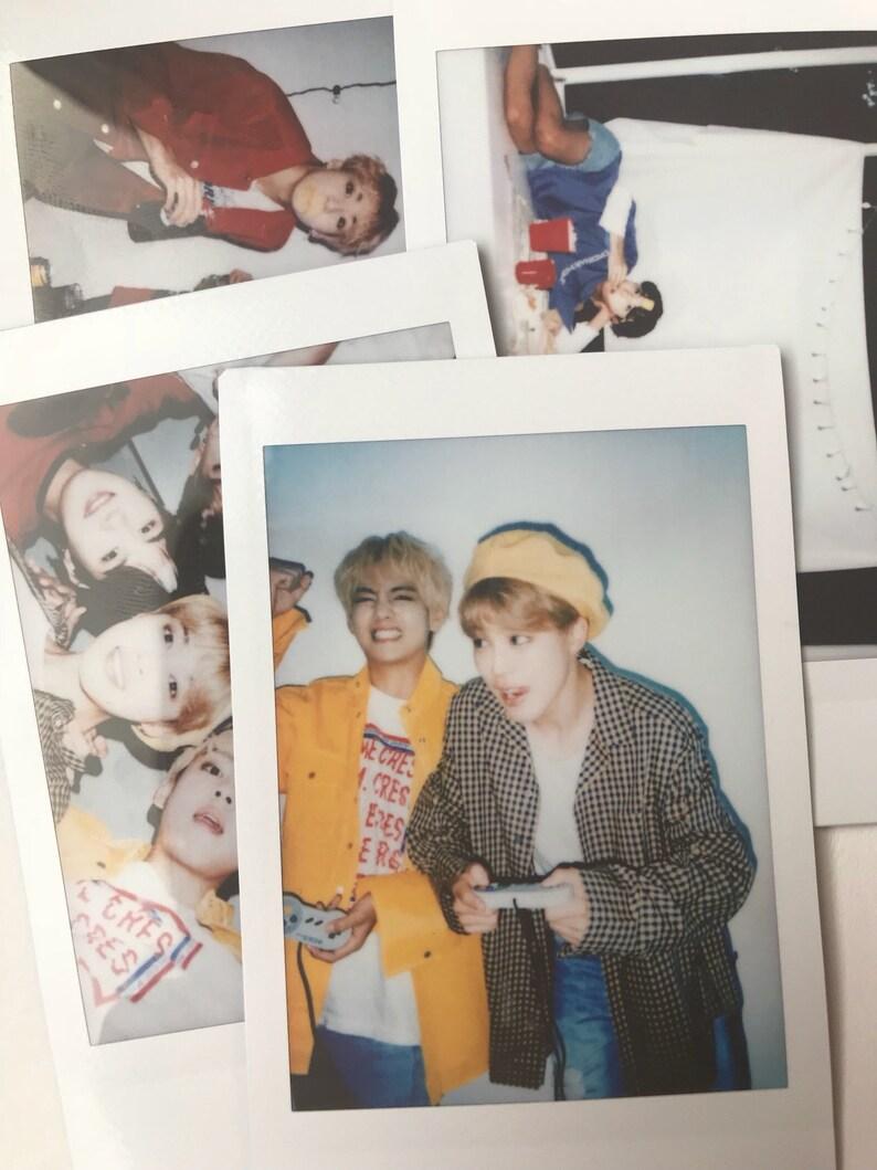 BTS Instax Polaroids Season's Greetings 2019