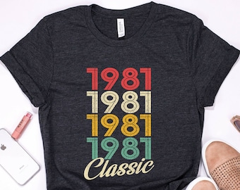 4bc35171 38th birthday gift for women, 38 years old, Vintage 1981 Shirt, 38th  Birthday, 38th Birthday Gift, 38th Birthday Shirt, 38th birthday tshirt