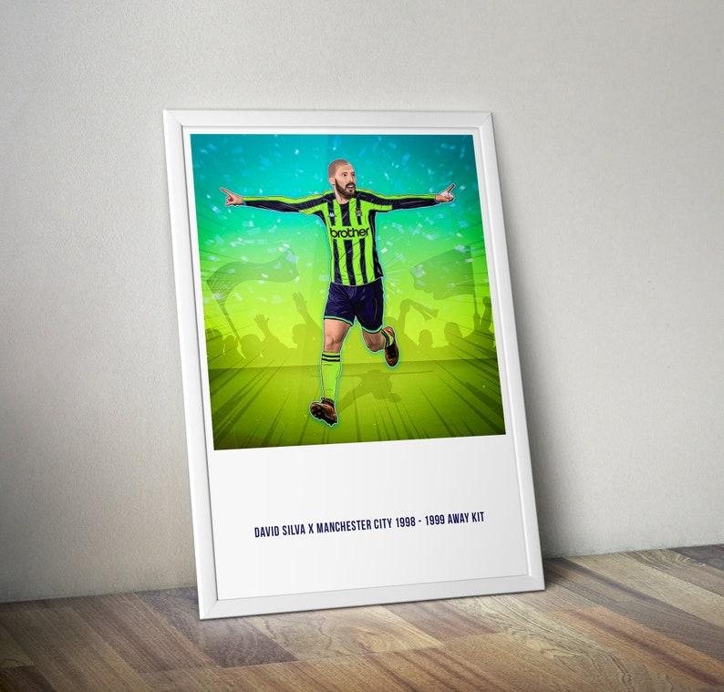check out 3a843 48d5a David Silva x Manchester City 1998 - 1999