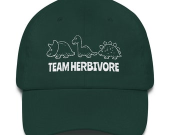 df971e58631 Team Herbivore Dad Hat