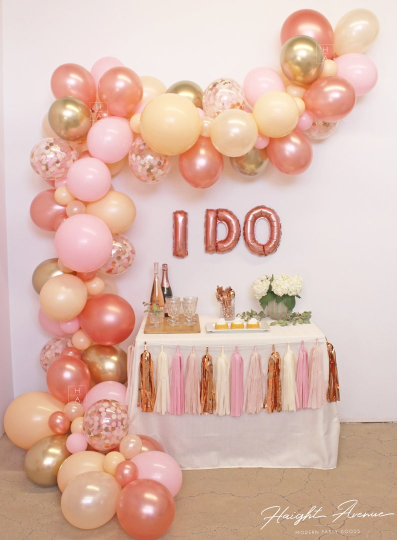 Stunning Balloon Garland Perfect for weddings bridal showers image 0