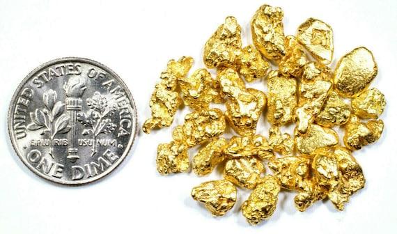 GRAMS ALASKAN YUKON BC NATURAL PURE GOLD NUGGET HAND PICKED FREE SHIPPING .550