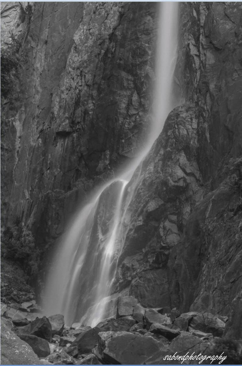 596ebf69ac31 Lower Yosemite Waterfall, Yosemite National Park, California