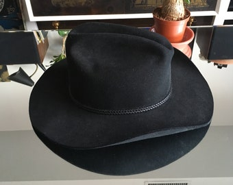 f477f9752cc RESISTOL 4x Beaver Self-Conforming Cowboy Hill Country Hat