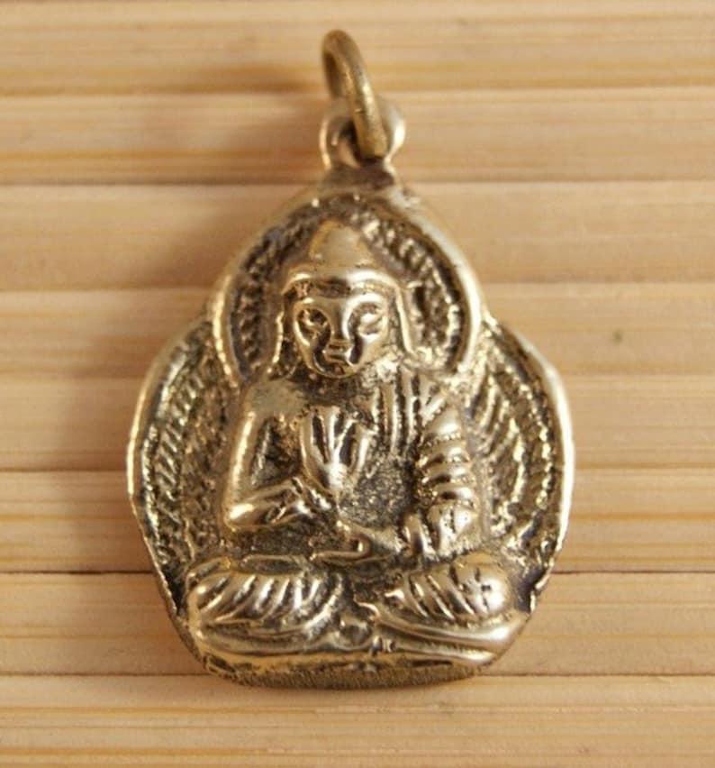 Pendant Buddha Amoghasiddhi Nepal 1142