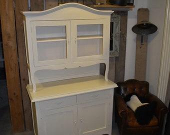 Shabby chic cabinet | Etsy