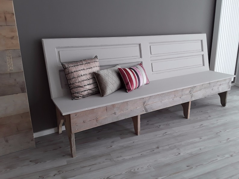 Vintage Wooden Bench 180 Cm Or Other Sizes Etsy