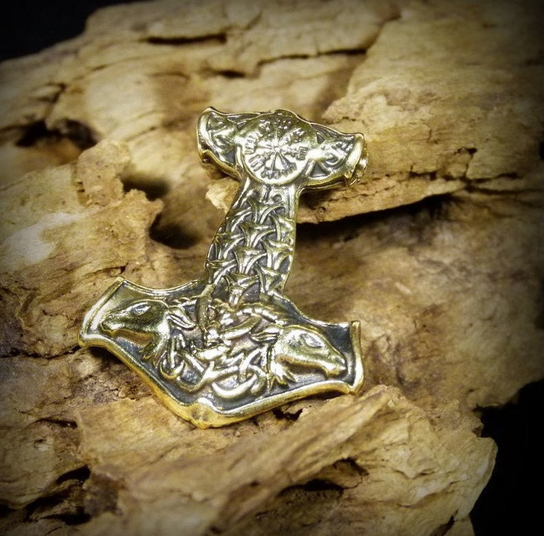 Thor S Hammer Pendant Mjolnir Viking Pendant Gift Pendant Thor S Hammer Pendant For Necklace Keychain Ancient Jewelry Nordic