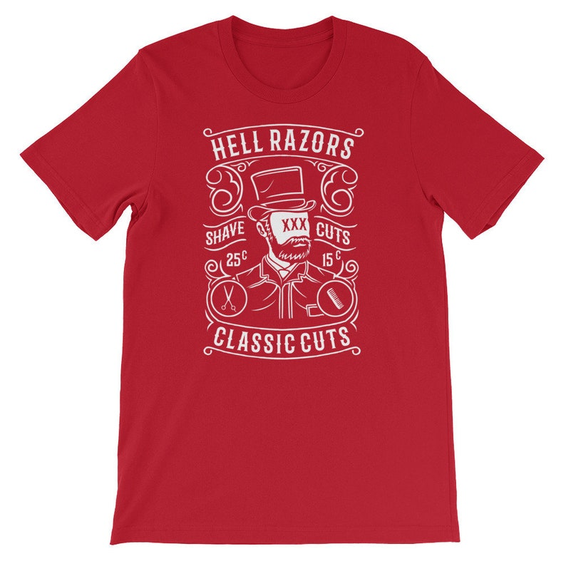 Hell-Razors Short-Sleeve Unisex T-Shirt