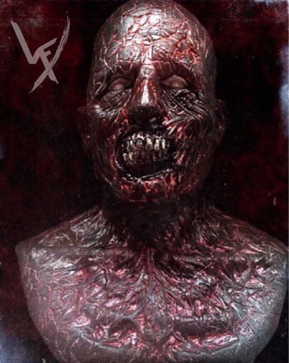 Burnt Zombie silicone mask by WFX