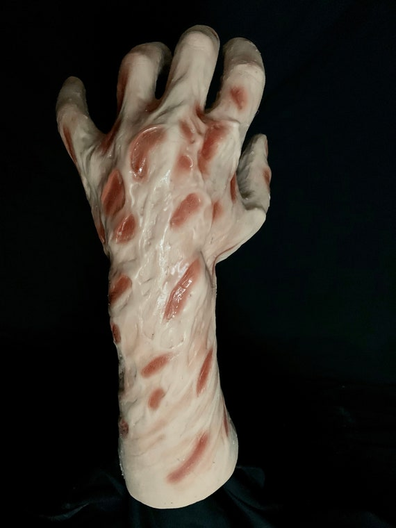 Freddy New Nightmare Krueger Silicone Burned Left hand by WFX