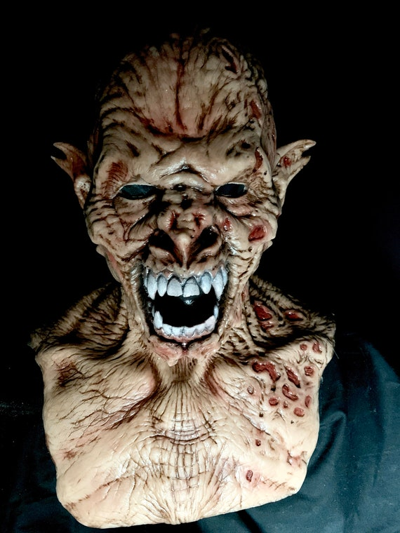 Vampire Zombie silicone mask by WFX Mask