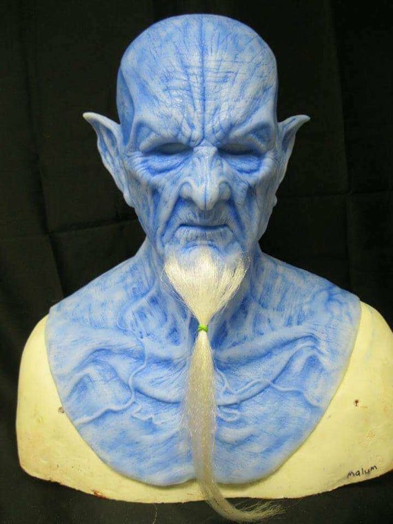 Ice Malum Demon silicone mask by WFX