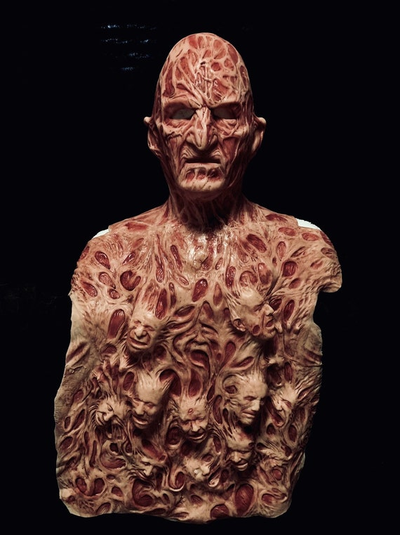 Freddy Inferno Part 4, 2.0 Krueger Silicone Mask and Chest Of Souls by WFX