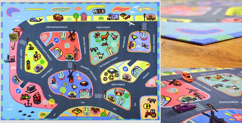 Annyo Game Rug East Frisia image 0