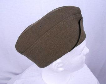 e0ffeaf2bce Vintage 1942 Alpine Cap Co. Military Cap