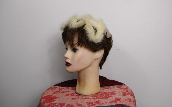 Vintage 1950's/60's Fascinator/Hat - image 4