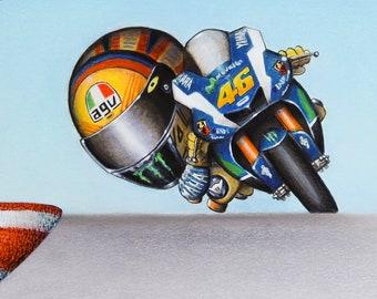 Valentino Rossi 46 Etsy
