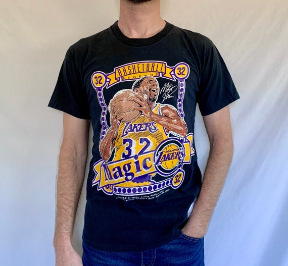 "Vintage Magic Johnson ""Basketball Legends"" T-shirt"