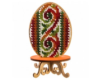 easter embroidery designs,Embroidery bead kit on wood DIY embroidery bead kit on wood egg holder 3,55x6.3