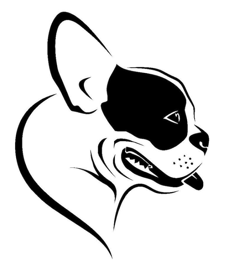 Car Sticker French Bulldog
