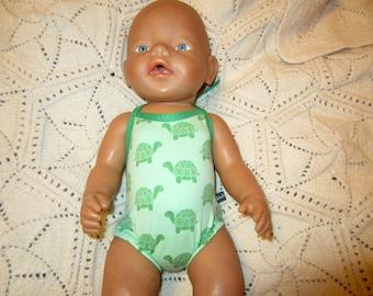 Badeanzug Puppenbadeanzug passend für Baby Born 43 cm Babypuppen & Zubehör Puppen & Zubehör