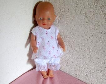 Puppenkleidung Baby Doll 2tlg.  für Puppen 43  cm