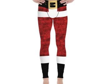 df8cf97680 Christmas 2 - Mens Santa Leggings / Pajama Pants. Allow 2 weeks to receive  (See Size Chart last image)