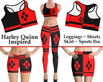 ee45a20df8 Harley Quinn Inspired Set Leggings