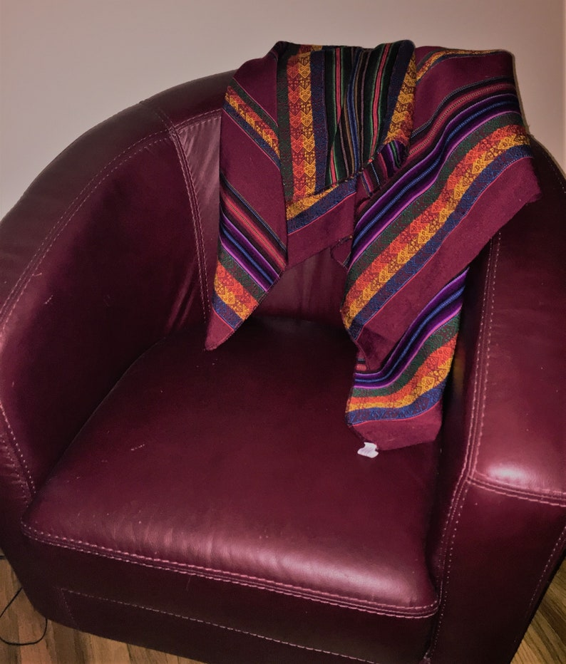 Sheep Wool Accent Throw CLEARANCE  Wanderlust Peruvian Cloth Table Runner