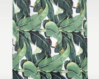 The Golden Girls Blanche Devereaux Banana Leaves Tapestry Shower Curtain