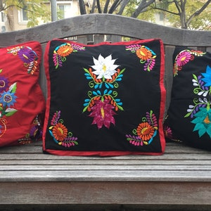 Beautiful Mexican Otomi Pillow Covers