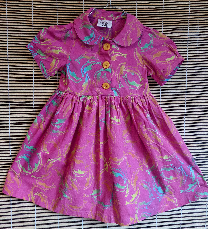 Zwei hübsche Kleider in einem für Mädchen - Modell Tulpe ...
