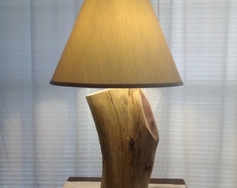 Rustic table lamp etsy rustic table lamps farmhouse table lamps cedar table lamps cabin table lampshunting lodged table lamps table lamps aloadofball Choice Image