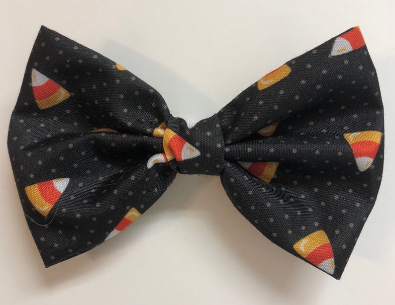 Candy Corn Dots Bow Tie