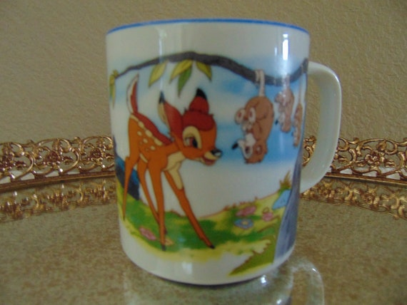Coffee Cup World Anyone Disney Walt Disneyland Gifts Bambi Souvenir For Mug Collectible sCthdxQrB