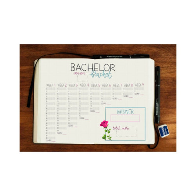picture regarding Printable Bachelor Bracket named Bachelor Bracket Bullet Magazine PDF