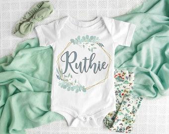 8f4bc85158b38 Baby girl onesie | Etsy