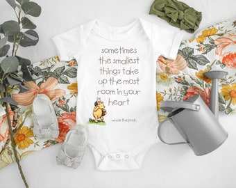 Baby Vest Smallest Things Take up the Most Room in your Heart