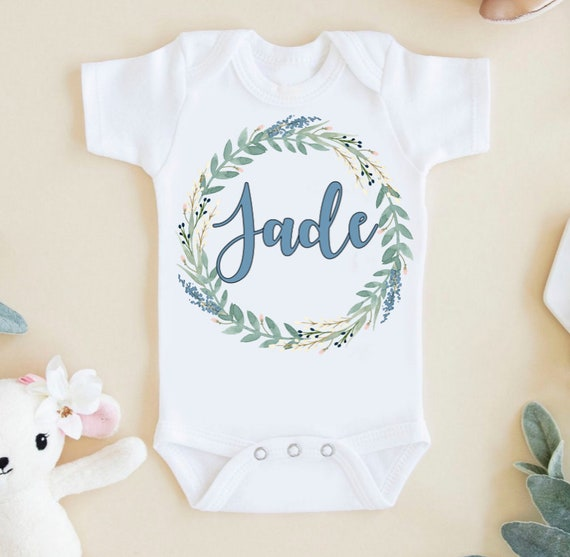 Born to be a Unicorn Baby Shower Gift Custom Baby Onesie Baby Girl Onesie Funny Onesie Unicorn Coming Home Outfit
