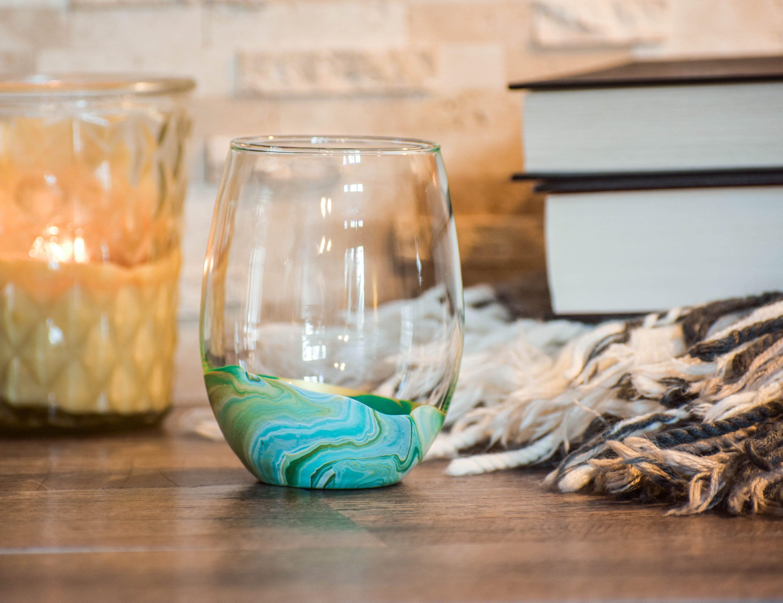 Beach Decor Beach House Gifts Life is Better at the Beach Coastal Decor Wine Glasses Set